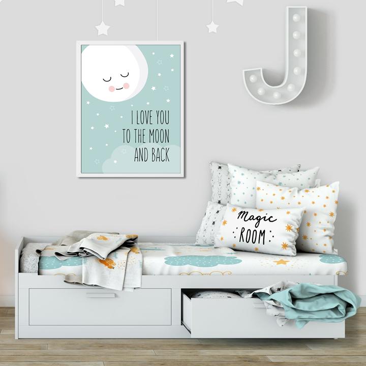 Plakat W Ramce I Love You